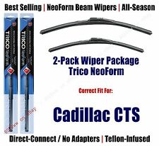 2pk Super-Premium NeoForm Wipers fit 2014 Cadillac CTS (Coupe Only)- 16220/190