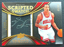 🏀 #/25 Derrick Rose 2008-09 Exquisite Scripted Swatches Auto Patch RC