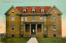 Iowa, IA, Oskaloosa, City Hospital 1910's Postcard