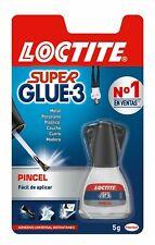 Pegamento contacto instantaneo Super Glue-3 LOCTITE 5 gramos pincel aplicador