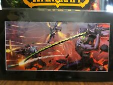 SDCC 2019 Blizzard Blade and Barrage Fine Art Print with Certificate 162 of 250