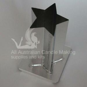 Star 160mm Metal Mould - 5 point, straight sides
