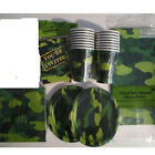 ARMY / CAMY CAMO Party Supply Set Pack Supply Kit w/ Invitations