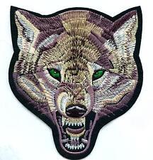Wolf écusson patch Back BIKER Indien timberwolf xl
