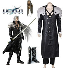 Final Fantasy 7 Sephiroth Cosplay Costume Full Suit Deluxe in Stock Custom Size