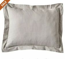 "Eva Shockey Collection GRAY LINEN EURO PILLOW SHAM 27"" X 27"" Excursion CA1723E2"