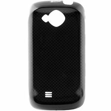 GENUINE Samsung Reality SCH-U820 BATTERY COVER Door BLACK Patterned smart phone