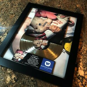 Lil Peep Come Over When You're Sober Pt.1 Million Record Sales Music Award Vinyl