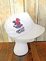 Vintage Disney Epcot Purple Rainbow Figment White Hat Adult Art Festival