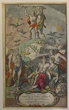 "Frontispice Homann ""Atlas novus terrarum orbis imperia"" vers 1710"