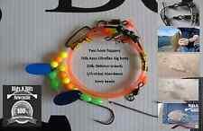 Sea fishing Rig - Two hook flatty flapper - High quality shore rig - Dab, Plaice