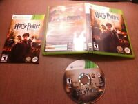 Microsoft Xbox 360 Complete Tested Harry Potter and the Deathly Hallows Part 2