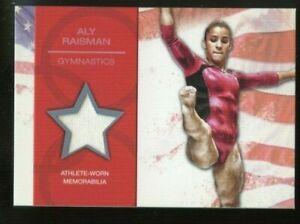 2012 Topps USA Olympics Athlete worn Relic ~ Aly Raisman