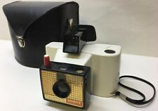 "Vintage Retro Mid Century Modern Polaroid ""SWINGER"" Model 20 Camera & Case"
