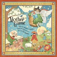 5p Graphic 45 Scrapbook Paper Mother Goose Storytime title page musical score