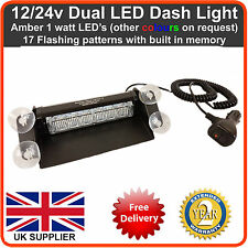 Emergency LED Dash Light Lightbar Recovery Strobe beacon (like Premier Hazard)