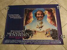 ADVENTURES OF BARON MUNCHAUSEN movie poster TERRY GILLIAM