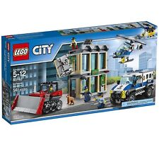 60140 BULLDOZER BREAK-IN lego SET legos city town NEW police helicopter TRUCK
