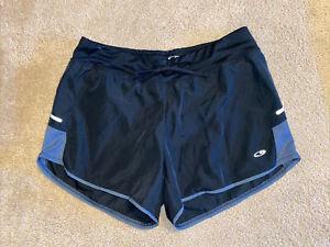 Champion C9 Women's Medium Black Running Lined Athletic Shorts