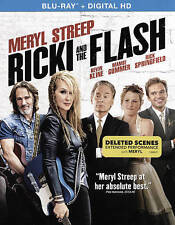 Ricki and the Flash (Blu-ray Disc, 2015, UltraViolet Includes Digital Copy) NEW!