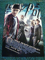 HARRY POTTER AND THE HALF BLOOD PRINCE WITH DANIEL RADCLIFFE
