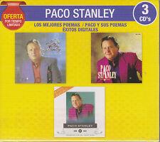 3 CD's Paco Stanley CD NEW Los Mejores Poemas Paco Y sus Poemas OFERTA NEW !