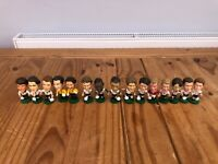 15x Various England International Football Corinthian Figures - 1995 to 2002 GQ