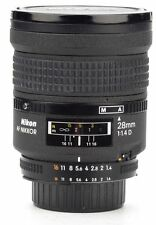 Nikon Wide Angle Camera Lenses