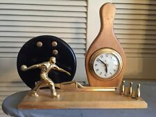 Vintage UNITED  Electric Bowling Clock