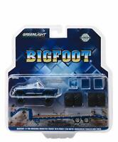 GREENLIGHT 30054 1:64 1974 FORD F-250 BIGFOOT #1 MONSTER TRUCK GOOSENECK TRAILER