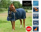 Gallop+Trojan+100g+Combo+Turnout+Horse+Rug+Light+Medium+Weight+Fixed+Neck