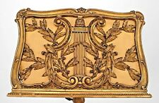 French Louis Xv Style (19th Cent.) Gilt Adjustable (Duet) Music Stand