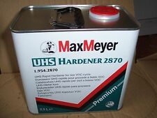 Max Meyer UHS Rapid Hardener  1.954.2870  2.5lt tin    Fast Catalyst made by PPG