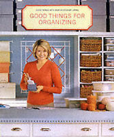 Good Things for Organizing (Good Things With Martha Stewart Living)-ExLibrary