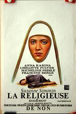Jacques Rivette : Anna Karina : La Religieuse : POSTER