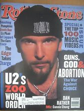 ROLLING STONE MAGAZINE OCTOBER 1993 U2 ZOO WORLD ORDER & MUCH MORE...