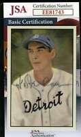 Hal Newhouser 1983 Big League Jsa Coa Hand Signed Authentic Autograph
