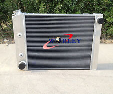 3 ROWS Aluminum Radiator for FORD Cortina 6 cylinder TC TD TE TF 1972-1982 AT/MT