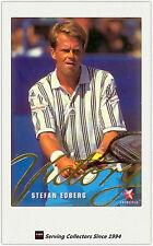 1996 Blitz Australia Tennis Trading Card Victory Subset V12 Stefan Edberg