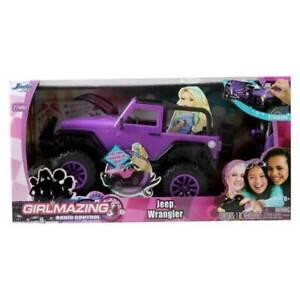 Jada Toys GIRLMAZING RC 27MHZ JEEP WRANGLER