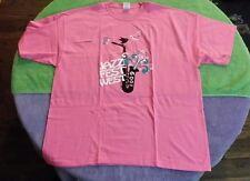2009 Jazz Fest West San Dimas CA T-Shirt Size 2XL Pink Teena Marie Festival
