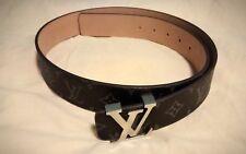 Original louis vuitton cinturón rollover/damier Cobalt/muy buen estado - 95/40