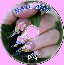 CREATE UNIQUE STYLISH NAILS GUIDE DVD NAIL ACRYLICS TIPS IN-FILLS MANICURES NEW