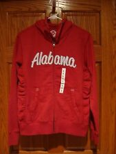Women's CAMPUS DRIVE NCAA Alabama Crimson Tide Hooded Zip Up Jacket Size Small