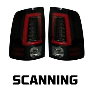 Recon 264336BKS Oled Tail Lights For Dodge 13-18 Ram 1500/2500/3500 NEW