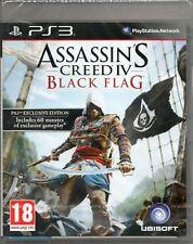 ASSASSIN'S CREED IV: BLACK FLAG GAME PS3 (assassins 4) ~ NEW / SEALED