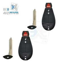 2 Replacement for Dodge 2008-2010 Ram 1500/2500/3500/4500 Remote Car Key Fob 3b