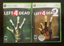 Left 4 Dead 1 & Left For Dead 2 - Xbox 360 Games Lot Complete + Free Shipping!