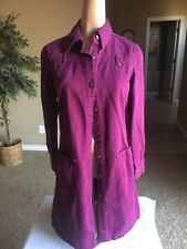 Newport News Jeanology Jean Dress Size 4