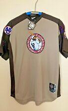 Negro League Baseball Museum Jersey 1920-1960 Blue Shirt All Team Patches 2XL